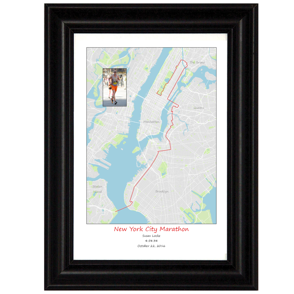 13x19 Portrait - New York with Frame